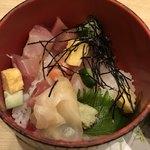 銀波 - 本日鮮魚の吹き寄せちらし寿司