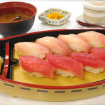 海鮮茶屋 濱膳 - まぐろのお寿司