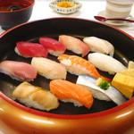 海鮮茶屋 濱膳 - 握り寿司