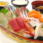 海鮮茶屋 濱膳 - お刺身定食