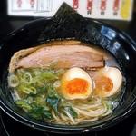 麺匠 Jazz - 料理写真:【豚骨醤油らーめん + 味玉】¥750 + ¥100