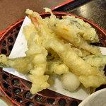 たよし - 天ぷらうどん定食