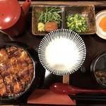 83098949 - ひつまぶし花(3180円)肝吸い別売り