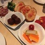 エビスカフェ&バル - 前菜5種盛り合わせ