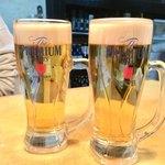 赤坂大関 - 生ビール 670円×2