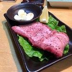 赤坂大関 - 厚切特上タン 3,200円