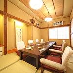 九段下 寿司政 - 2階 座敷2部屋(~10名)