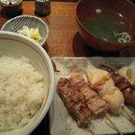 831293 - くし焼き定食(5本)