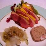トックブランシュ - 前菜の盛合わせ