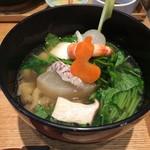 おだし東京 - 海老と魚貝のおだし