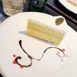 コレット - 檸檬とピスタチオのケーキ