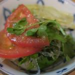 隼 - 隼サラダ(4種)喰らう