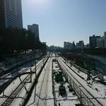 アジアンタワン - 雪景色の飯田橋