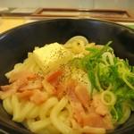 松屋 - 和風カルボナーラうどん
