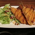 魚酒場ピン - アジフライとクリームコロッケ