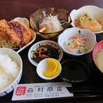 西村商店 - 商店定食(日替り定食)