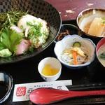 西村商店 - 山かけ海鮮丼定食