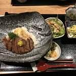 わ可ば - ヒレ肉のステーキ丼