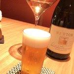 銀座 きた福 - 生ビール小