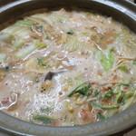 谷中 鳥よし - あんこう鍋