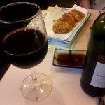 串芳 - ワイン飲んで。