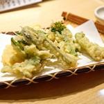 居酒屋割烹 ほたる - ☆春らんまん野菜天ぷら 1200円