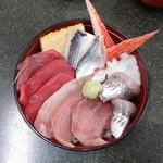 売店 清水 - 海鮮丼(日替り)