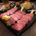 焼肉もとやま - 和コース 19品 ¥4980