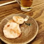 83116361 - 食べてから写真撮った山芋の梅肉和え