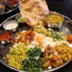 インド食堂 チャラカラ - ベジミールス 1200円