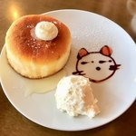 札幌 宮の森珈琲 - はちみつホットケーキ
