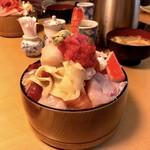 すし定 - ちらし大盛り(1,150円)