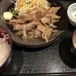 83118797 - 生姜焼き定食