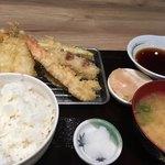 揚げ天まる - 料理写真:・天ぷら定食