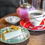 うてな喫茶店 - チーズケーキ、深煎りブレンド