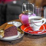 うてな喫茶店 - チョコレートケーキ、深煎りブレンド