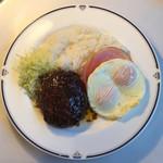 トレインレストラン日本食堂 - 日本食堂ハチクマライス