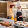 シェフズレシピ - 料理写真:ライブキッチンで熱々のお料理を♪