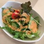 洋食工房 陶花 - セットのサラダ