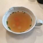 洋食工房 陶花 - セットのスープ