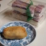 谷岡食堂 - 料理写真:いなり寿司、鯖寿司