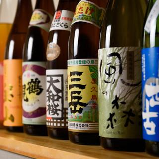 『おいしい料理と一緒に楽しみたい』豊富な日本酒が揃い踏み