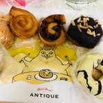 ハート ブレッド アンティーク - 料理写真:パンたち