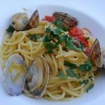 ミュゼリバーサイド レストラン&バーベキュー - あさりオイルパスタ
