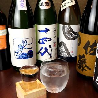 日本酒や焼酎が充実◎お肉に合わせて、ワインはいかがですか?