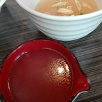 83130147 - 塩つけ麺の割りスープ