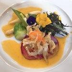 サドヤレストラン レアル・ドール - 白魚のマリネ 春の彩り野菜添え