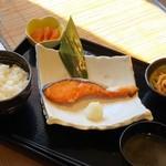 【焼き鮭】定食