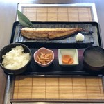 【ホッケ焼き】定食