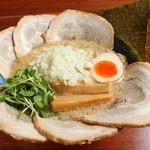 らーめん 侍元 - ミニマム級ちゃーしゅーちゃっちゃ麺